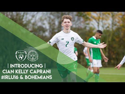 INTRODUCING | Cian Kelly Caprani #IRLU16 & Bohemians
