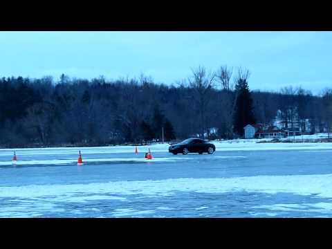 ACNA Winter Driving School Skidpad