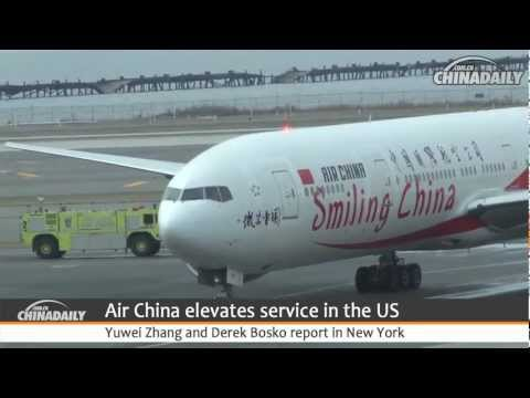 Air China elevates service in the US