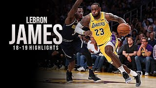 LeBron James - SHOWTIME - 2019 Lakers Highlights ᴴᴰ