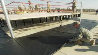 Tribute to the Troops BTS: Ring Set-up