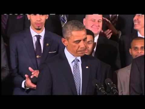 WATCH: Obama honors San Antonio Spurs at Whi