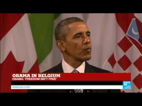 Barack Obama's speech in Belgium