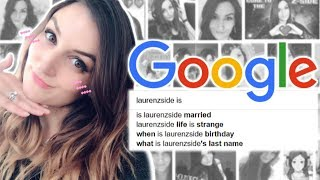 I Google Myself | LaurenzSide