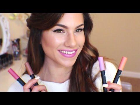 NEW! Wet n Wild Fergie Velvet Matte Lip Colors! Review + Lip Swatches!