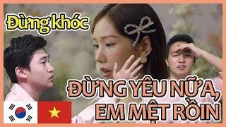 [ĐỪNG YÊU NỮA, EM MỆT RỒI- MIN] Người Hàn xem VPOP-Phản ứng - vpop reaction