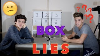 Box Of Lies // Dolan Twins