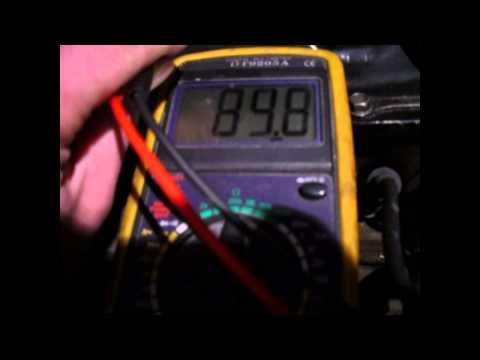 Видео как проверить датчик температуры наружного воздуха