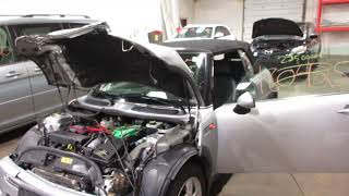 Parting out a 2008 Mini Cooper parts car - 180425 - Tom's Foreign Auto Parts