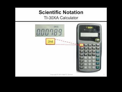 Ti 30xa Fractions