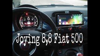 Fiat 500 radio install