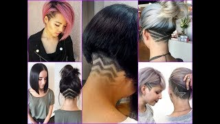 25 Undercut Bob Haircut Ideas for Women - New Hair Trends 2018