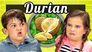 KIDS vs. FOOD #16 - DURIAN