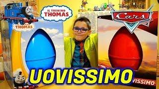 UOVISSIMO TRENINO THOMAS E CARS - Leo Toys