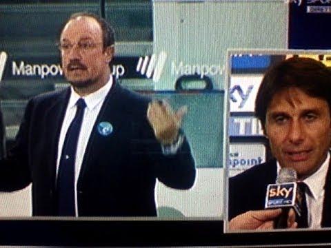 Udinese Juventus 0 2 Conte messaggio a Benitez partita da bollino Rosso