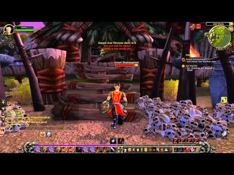 NoCom World of Warcraft Part 1 - The  Eversong Woods 13 (Horde): now in color!