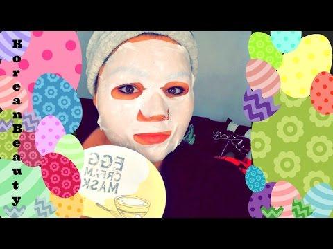 Egg Cream Mask Korean Beauty | Egg Cream Mask