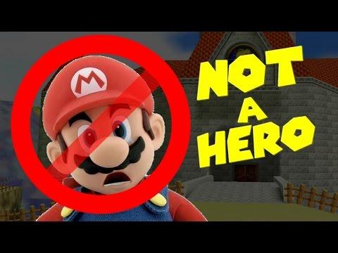 Mario is NOT a Hero!