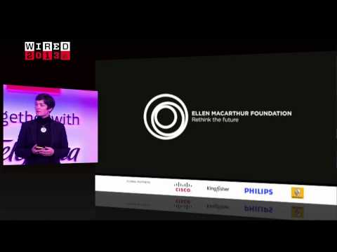 Dame Ellen MacArthur on the need for a circular economy | Wired 2013 video
