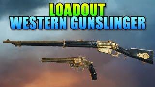 Loadout Western Gunslinger 1895 Infantry & No. 3 Revolver | Battlefield 1 Sniper Gameplay