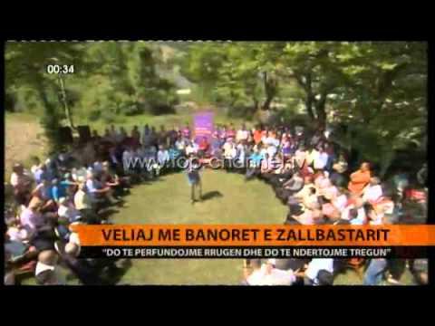 Veliaj, me banorët e Zall Bastarit - Top Channel Albania - News - Lajme