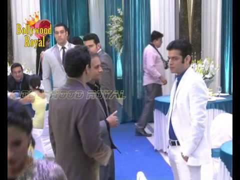On LOcation Of TV Serial Yeh Hai Mohabbatein Corporate Party...