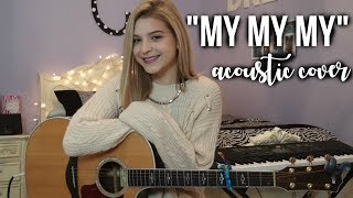 "Download Lagu ""My My My"" - Troye Sivan Acoustic Cover - Caroline Dare Gratis STAFABAND"