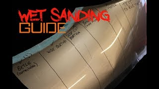 How to Remove Scratches from cars - Wet sanding guide