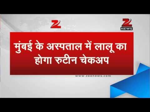 Lalu Prasad rushed to Mumbai hospital