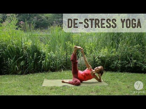 De-Stress Yoga Routine: Restore The Flow (open level)
