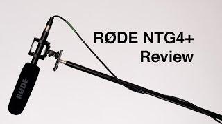 RODE NTG4+ Shotgun Microphone Review