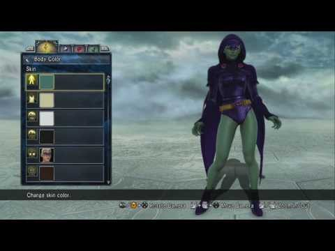 Soul Calibur 5 Custom Character DC comic's Raven