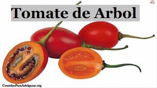 Comida Para Adelgazar: El Tomate de Arbol, Natural y Efectivo