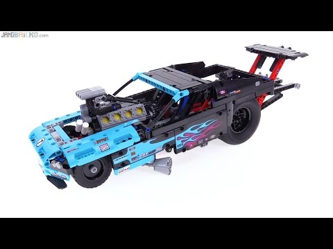 LEGO Technic 2016 Drag Racer review! 42050