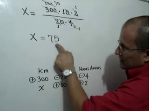 Regla de Tres Compuesta Problema 2-Rule of Three Composite Issue Problem 2