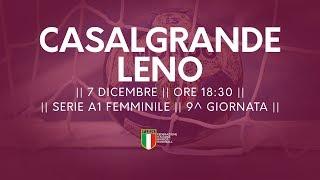 Serie A1F [9^]: Casalgrande - Leno 32-20