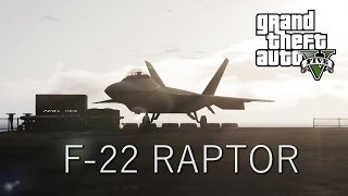 GTA V PC - Mod Showcase - F-22 Raptor