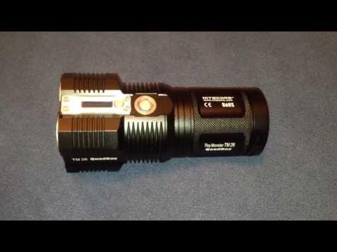 NiteCore TM26 update 3.800 lumen special edition