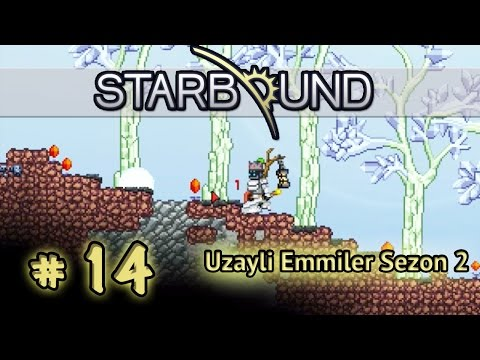 Starbound Co-Op / Sezon 2 # 14 [ Türkçe ] - Kristal Agajjjlar