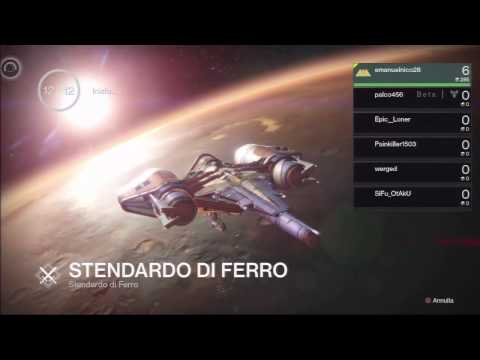 Destiny gameplay cattura bandiera