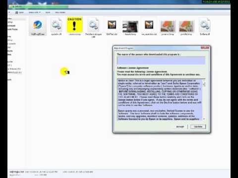 วิธีเคลียร์เคาน์เตอร์ Compute Clear Counter Epson ME535 โดยคอมพิวท์