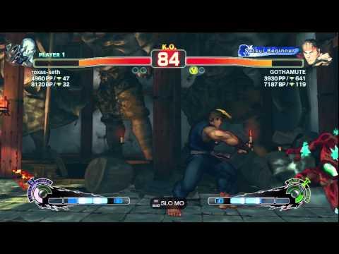 Seth(roxas-seth) VS Ryu(GOTHAMUTE)