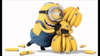THE MINION BANANA AND BARBARA ANN SONG (DESPICABLE ME 2)