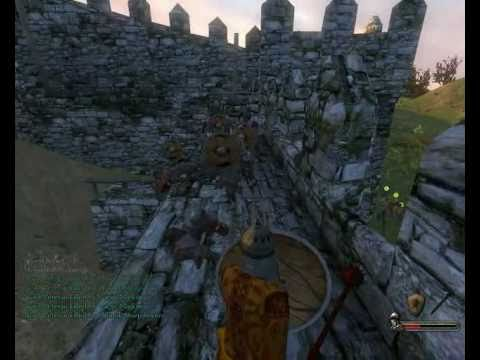 Mount & Blade Warband - How to ninja a castle.