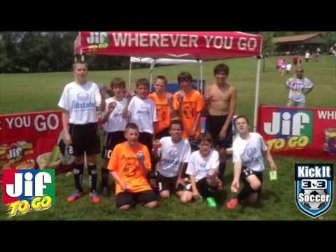 Kick It 3v3 Soccer Partners with Jif To Go