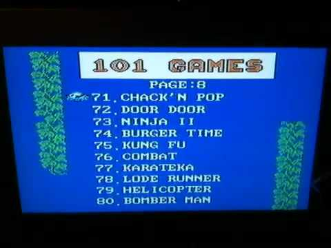 Some Pirate Nes Cart 101 Games YouTube