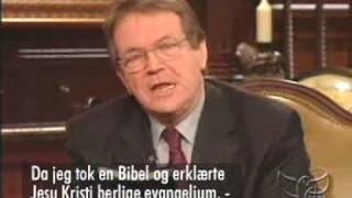 Benny Hinn and Reinhard Bonnke in confidential talk