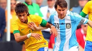 Argentina vs Brazil 4-3 Highlights Friendly 2012 HD 720p