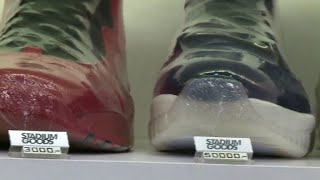 Luxury sneakers market booming in fashion conscious NYC