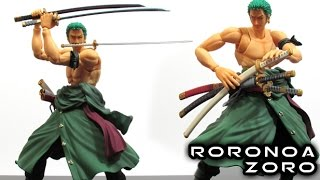 Variable Action Heroes RORONOA ZORO Figure Review